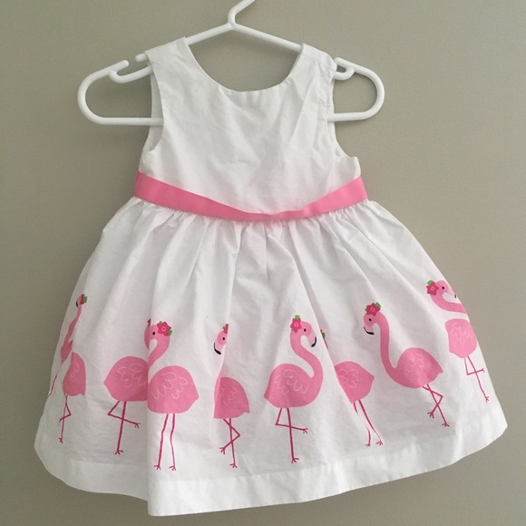 242214ac0 Gymboree Dresses | Baby Girl Flamingo Dress | Poshmark